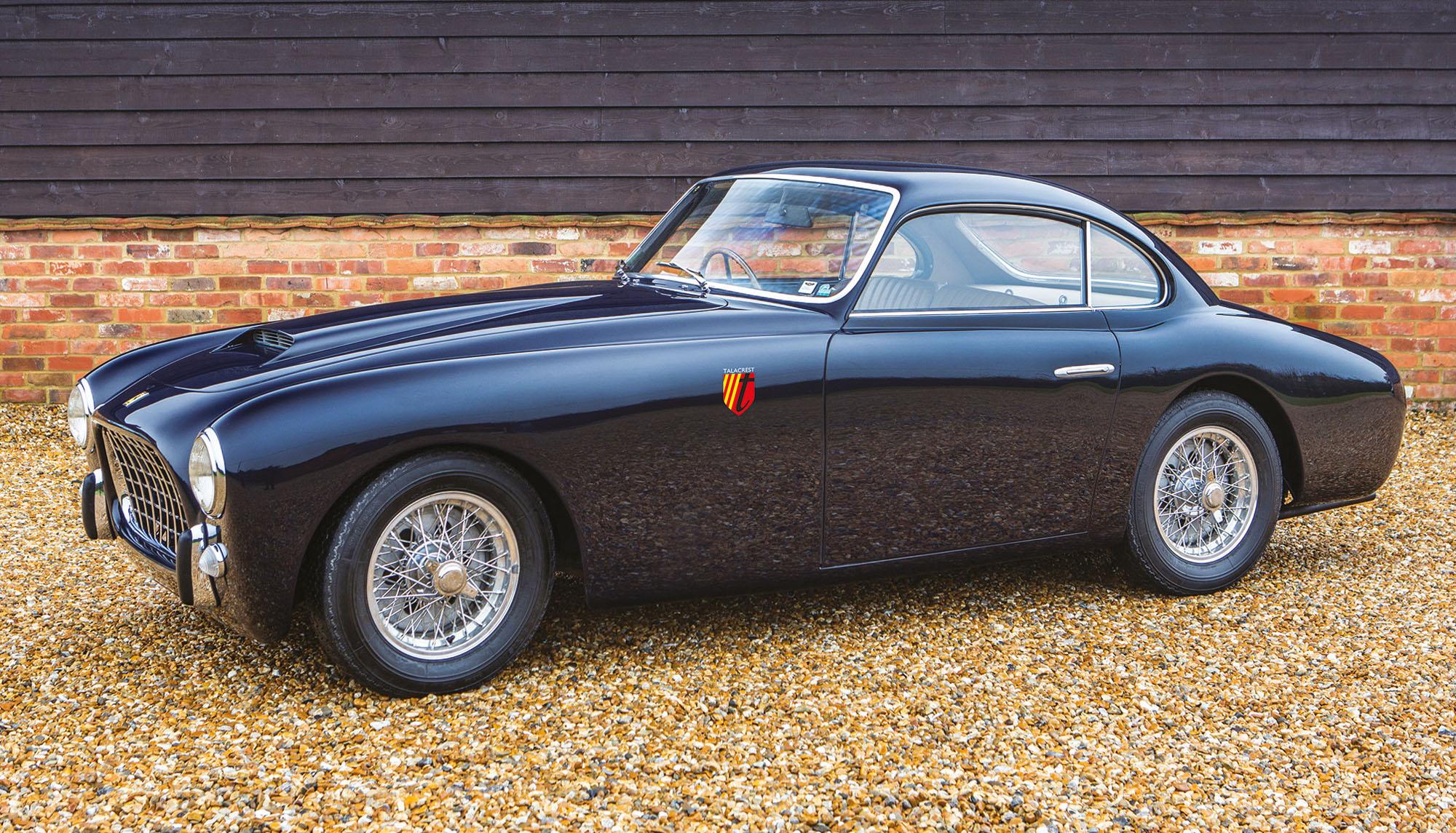 1951 Ferrari 212 Inter Coupé Ghia Aigle Riyadh Car Show Talacrest Classic Ferrari