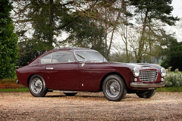 1950 Ferrari 166 Inter Vignale Coupe 166