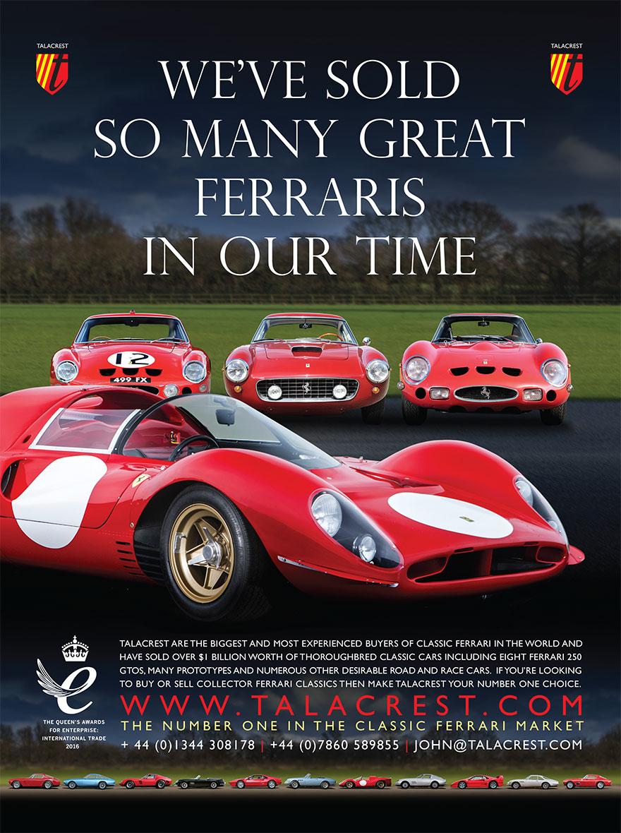 Classic Ferrari Sold - Talacrest